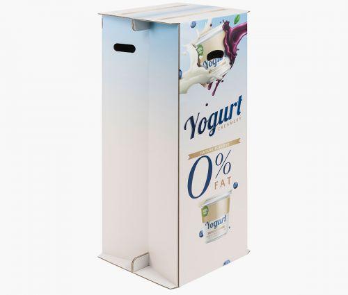 Cardboard counters 38 x 41 x 94 cm - Easy to set up ✦ Window2Print