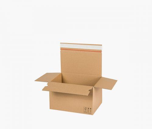 Cardboard Box AUTO 50 - returnable - 10 pieces ✦ Window2Print