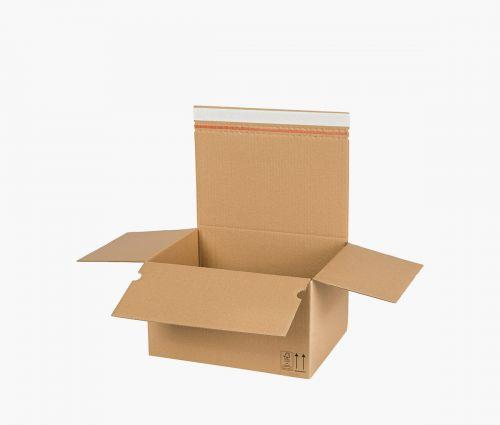 Cardboard Box AUTO 70 - returnable - 10 pieces ✦ Window2Print