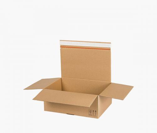 Cardboard Box AUTO 90 - returnable - 10 pieces ✦ Window2Print