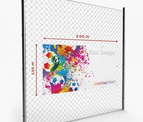 Banner - Frontlit - 200 x 100 cm