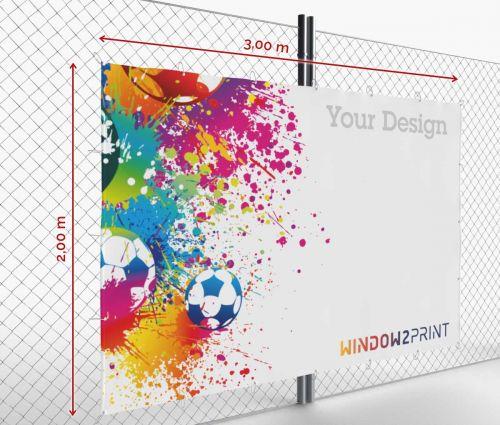 Banner - Frontlit - 300 x 200 cm