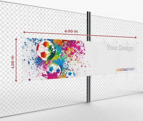 Banner - Frontlit - 400 x 100 cm