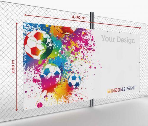Banner - Frontlit - 400 x 200 cm