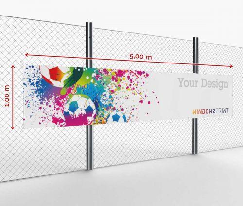 Banner - Frontlit - 500 x 100 cm