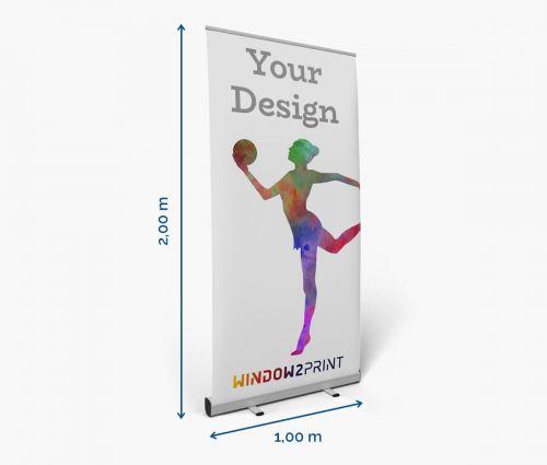 Roll up banner cheap - Window2Print