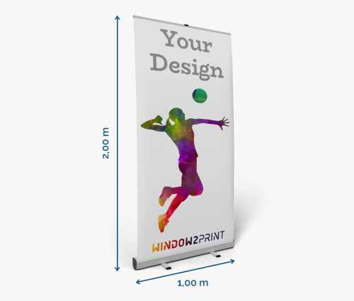 Roll up banner printing - Window2Print