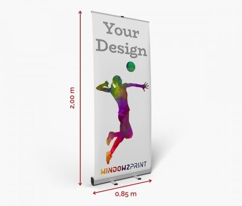 Roll up banner stand - Window2Print