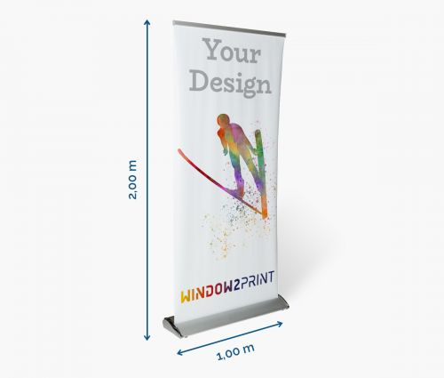 Advertising roll up banner - Window2Print