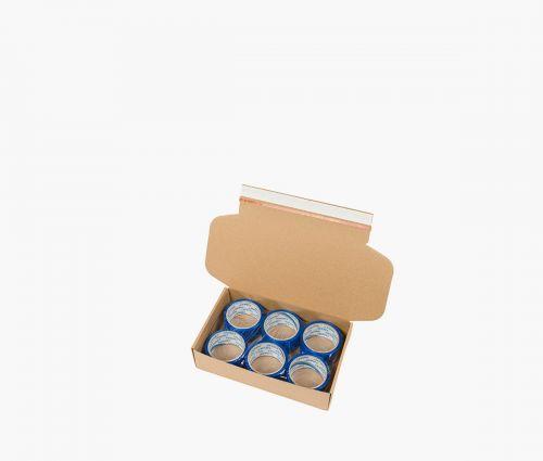 Cardboard Box FAST 10 -  Easy to fold ✦ Window2Print