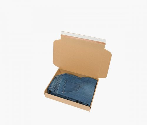 Cardboard Box FAST 30 - Tear-open strip ✦ Window2Print