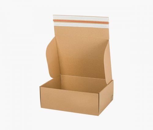 Cardboard Box FAST 50 - returnable - 10 pieces ✦ Window2Print