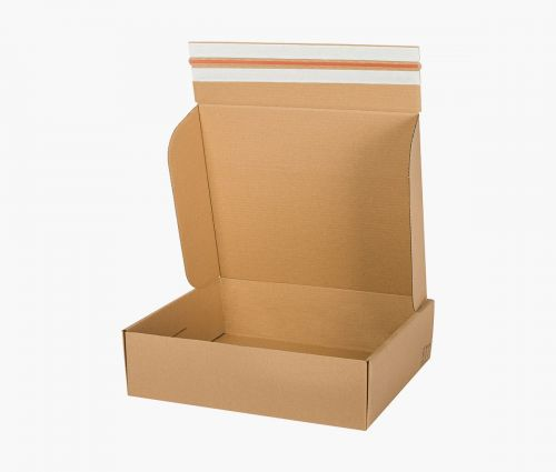 Cardboard Box FAST 70 - returnable - 10 pieces ✦ Window2Print