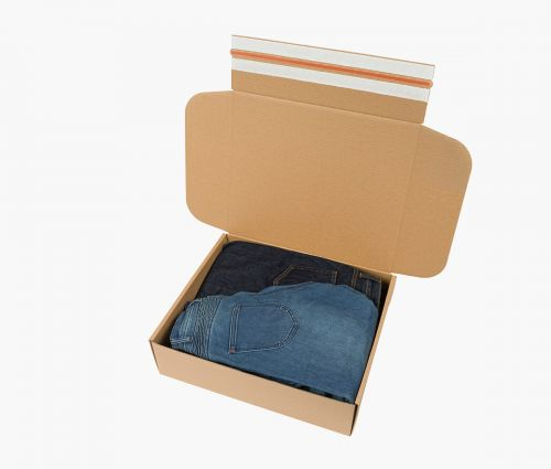 Cardboard Box FAST 70 - Easy packing ✦ Window2Print