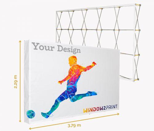 Fabric Display Hop-Up XL / 3x5 - Window2Print