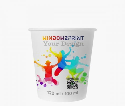 Personalized paper cups - Window2Print