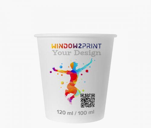 Paper cups 100 ml - Window2Print
