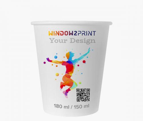 Paper cups 150 ml - Window2Print