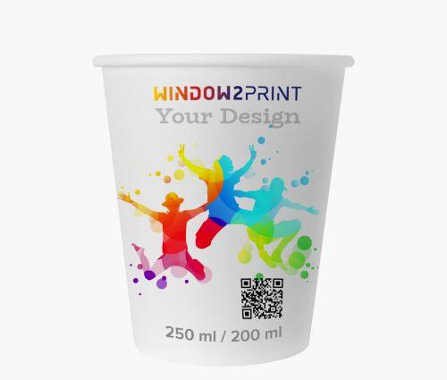 Coffee to go cups - Window2Print