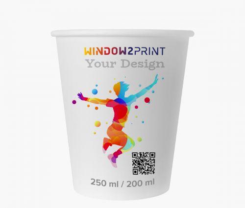 Paper cups 200 ml - Window2Print