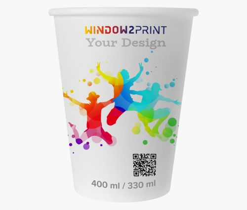 Paper cups 330 ml - Window2Print