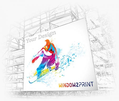 Banner printed - Window2Print