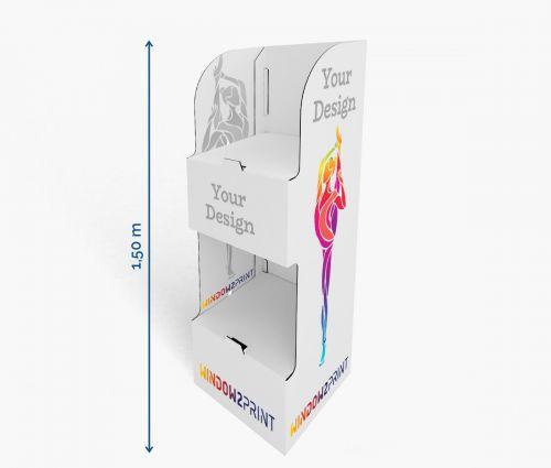 Shelf Display 7 - 60 x 40 x 150 cm - Window2Print