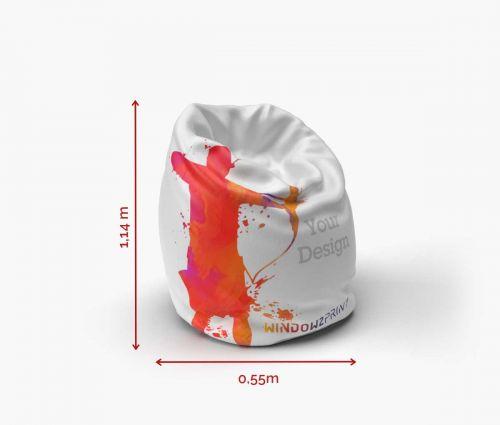 Bean Bag Small I Window2Print