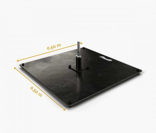 Square Base 50 cm (15 kg) ✦ Window2Print