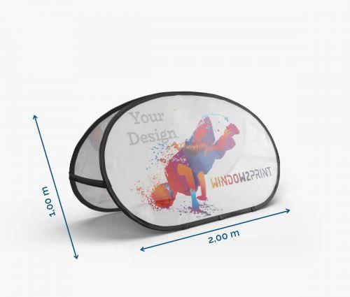 Pop-Up banner 200 x 100 cm I Window2Print