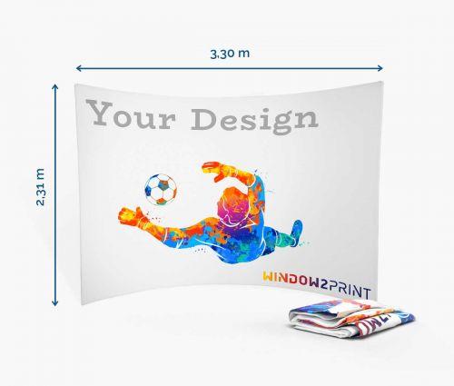 Fabric Exhibition Stand Horizontal - printout