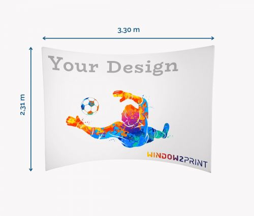Fabric Exhibition Stand Horizontal - Window2Print
