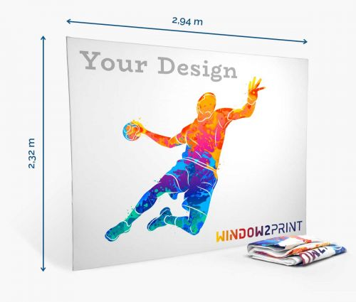 Fabric Exhibition Stand Straight - printout