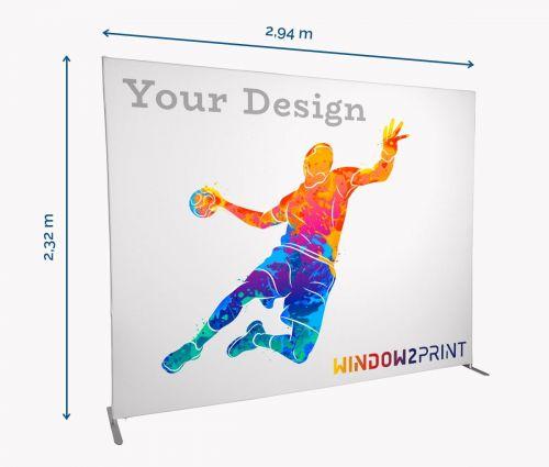 Fabric Exhibition Stand Straight - Window2Print